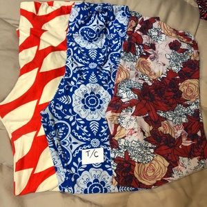 Tall and Curvy LuLaRoe leggings